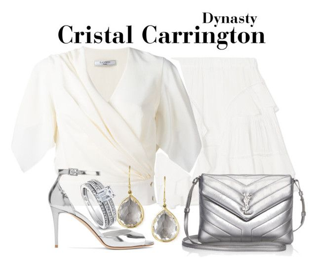 Dynasty by sparkle1277 on Polyvore featuring polyvore, fashion, style, Lanvin, Étoile Isabel Marant, Jimmy Choo, Yves Saint Laurent, Ippolita, BERRICLE and clothing