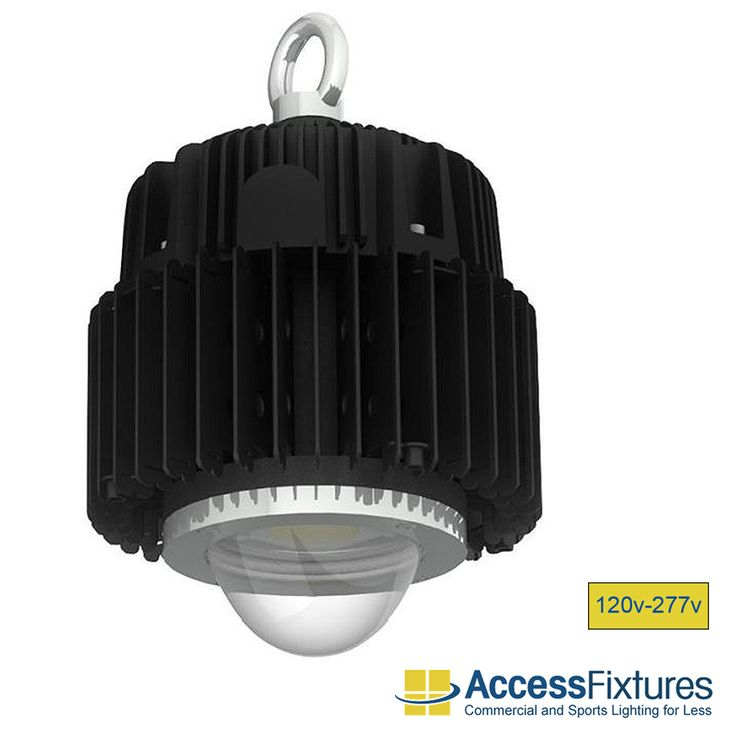 KOTA 100w LED High Bay Light 120v-277v available at Access Fixtures, from $149.99.  The KOTA 100w LED high bay luminaire offers exceptional performance at a factory-direct price. Patented passive-cooling technology and a cold-forged heat sink keep the fixture running cool and efficiently for all of its 100,000-hour rated life.