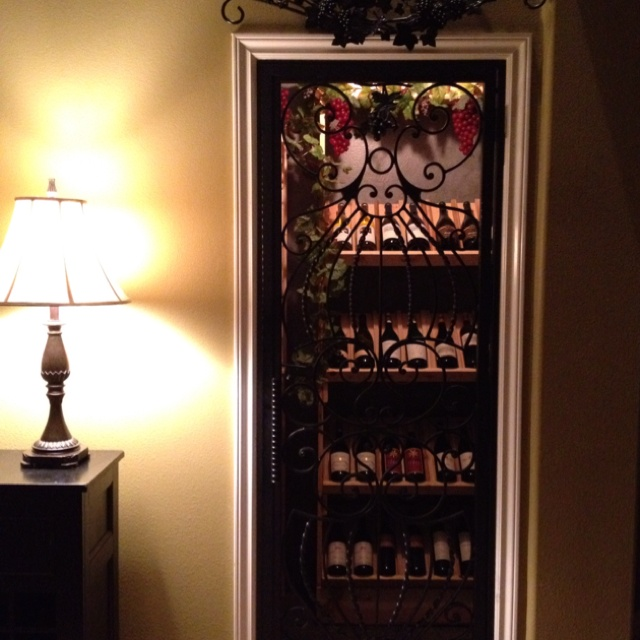 Turn the closet under the stairs into a walk in wine cellar Turn closet into wine cellar