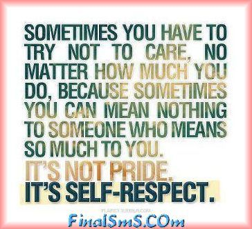 Sometimes you have to.....