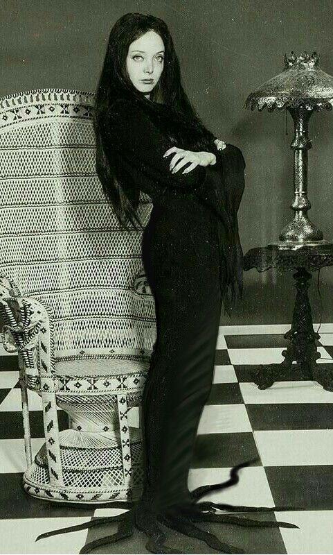 Morticia Addams Dress