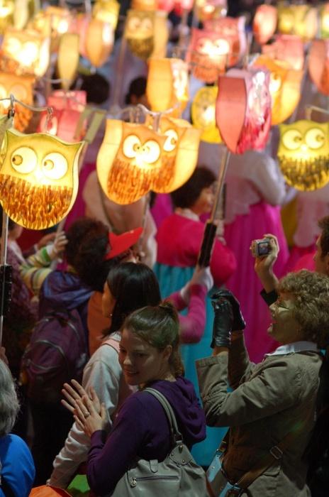 Budda's Birthday Parade, Seoul, Korea (May)