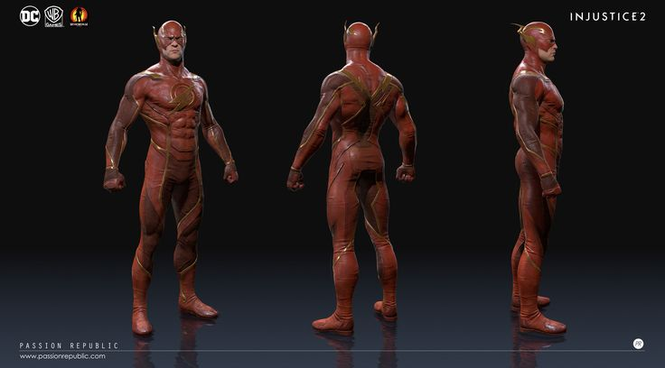 This is a prototype model I did for NetherRealm Studios. The in-house artist from NetherRealm Studios did some modification on the design and textures to achieve the in-game final look.  For this prototype model, I'm responsible on the Highres sculpt, Game Mesh and Textures.   Copyright WarnerBros, NetherRealmStudios, PassionRepublic.