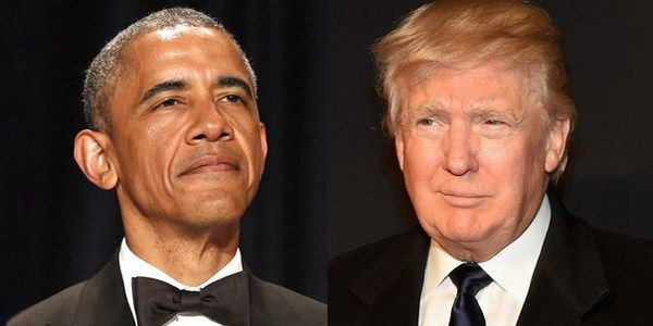 Poll : Trump Just Gave Order Arrest Of Barack Obama. Do You Agree Him ?   Yes NO