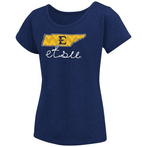 Colosseum Athletics™ Girls' East Tennessee State University Tissue 2017 T-shirt