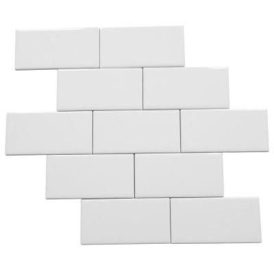 Daltile Rittenhouse Square Arctic White 3 In X 6 In