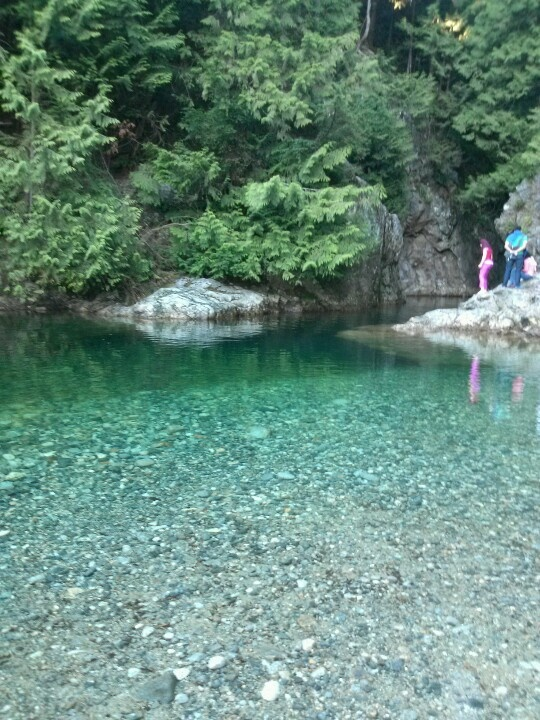 30 Foot Pool. The local Lynn Valley watering hole.