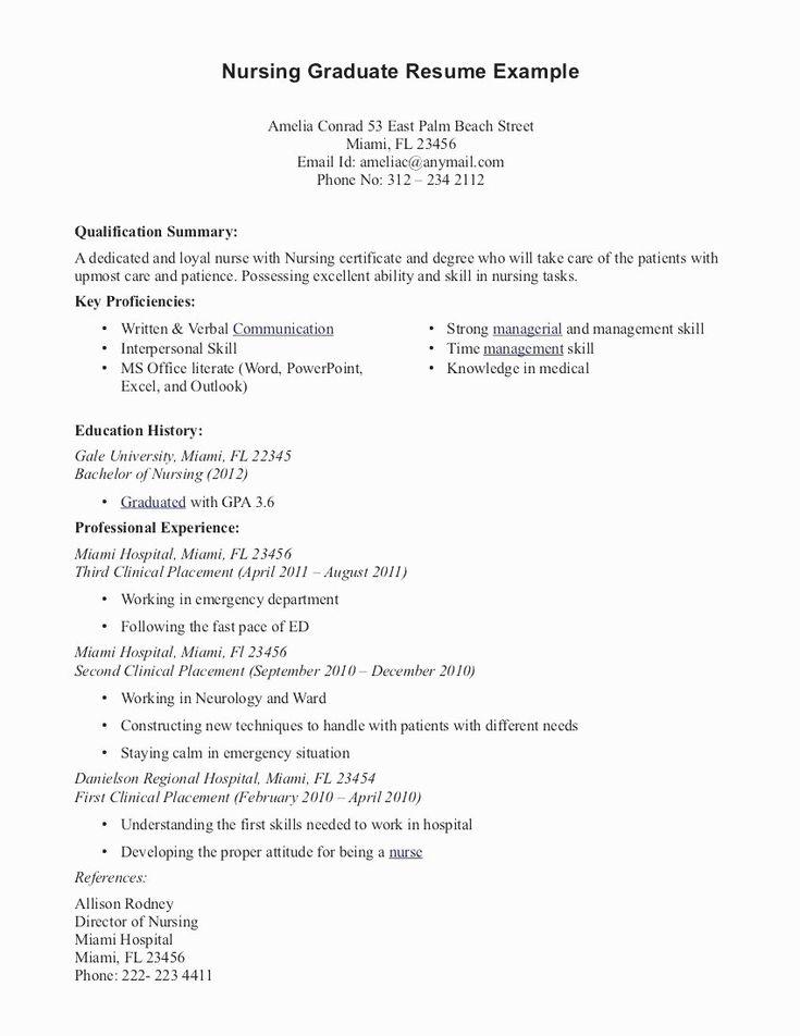 20 emergency room nurse resume nursing resume examples