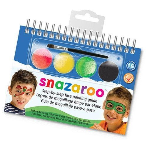 Snazaroo Two Step Monsters & Heroes Face Painting Kit