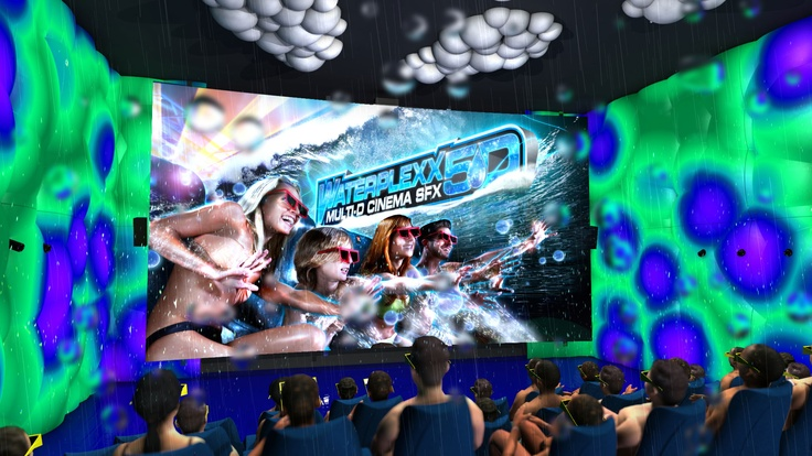 The main theme of the Waterplexx 5D theatre is of course WATER.