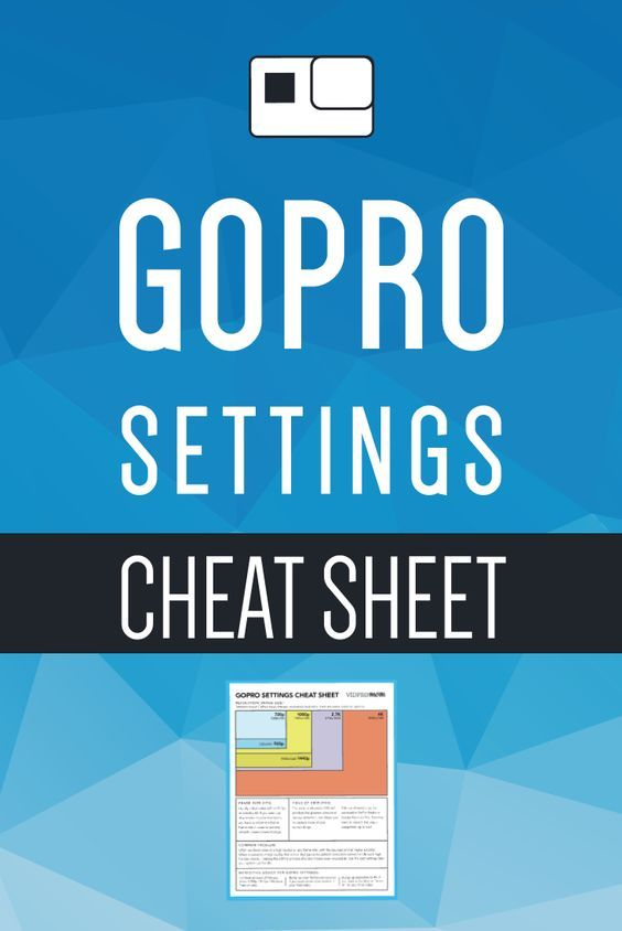Grab my GoPro Settings Cheat Sheet – print it or save if to your phone or iPad so you have it handy for a quick reference! VidProMom.com