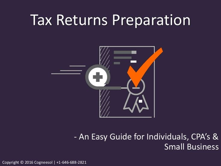 Marvelous Tax Return Preparation: A Guide For Individuals, CPA U0026 Small Business