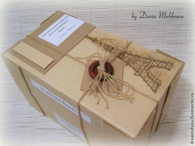 """Мастерим коробку с двойным дном для игрушки с """"приданным"""". Часть 2 - Ярмарка Мастеров - ручная работа, handmade"""