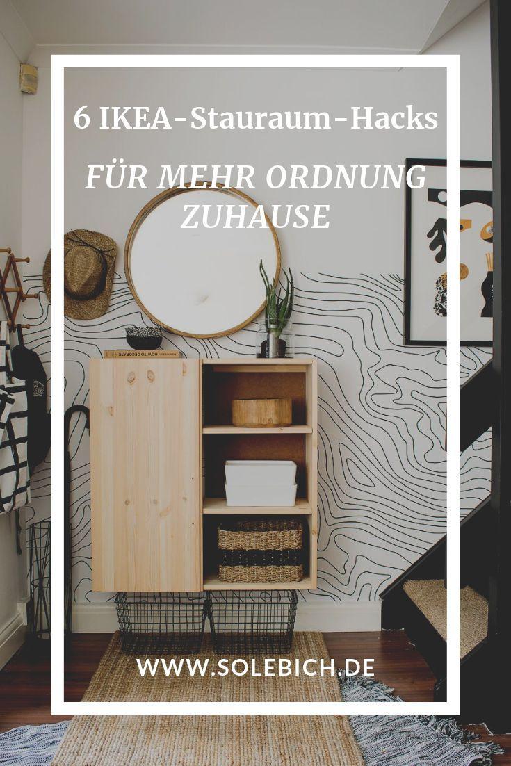 20 IKEA Stauraum Hacks   Ikea lagerung, Handgemachte wohndekoration ...