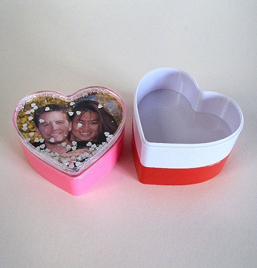 Personalised Heart Trinket Box