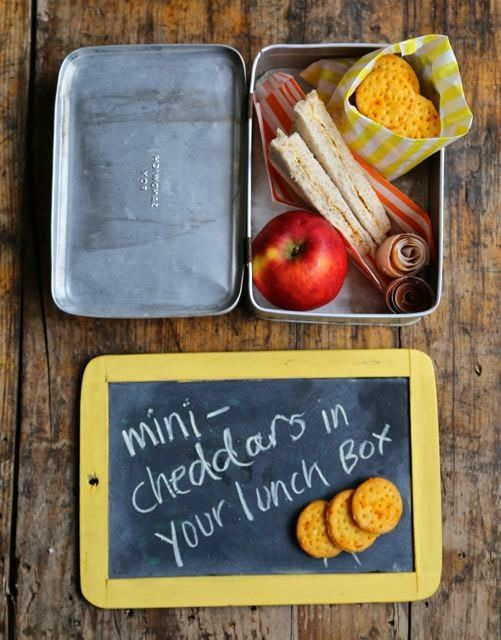 MsMarmiteLover: Mini cheddars for lunchboxes