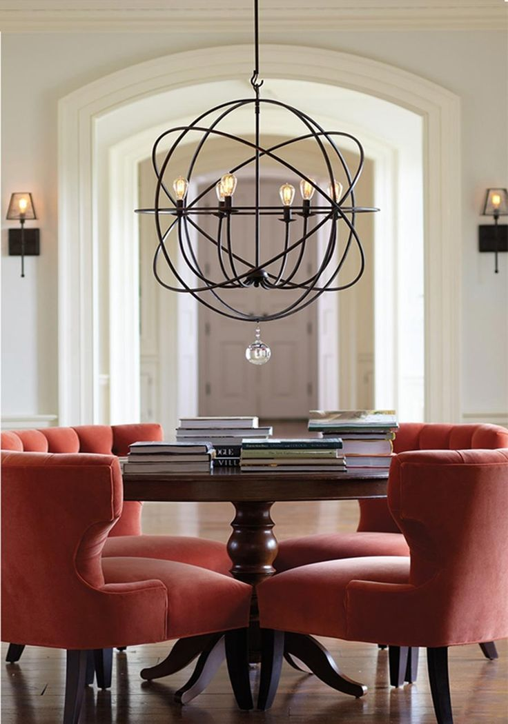 dining room lighting trends. globeorb light dining rom how to select the right size room chandelier lighting trends
