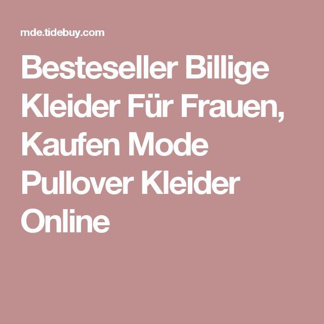 Besteseller Billige Kleider Für Frauen, Kaufen Mode Pullover Kleider Online