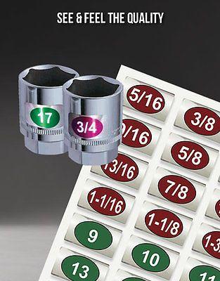 Chrome-Foil-Socket-Labels-for-mechanics-the-home-craftsman-now-find-it-fast
