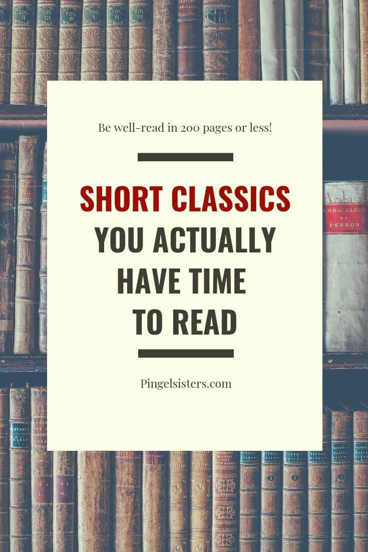 43 Short Classics You Have Time To Read Book Club Books