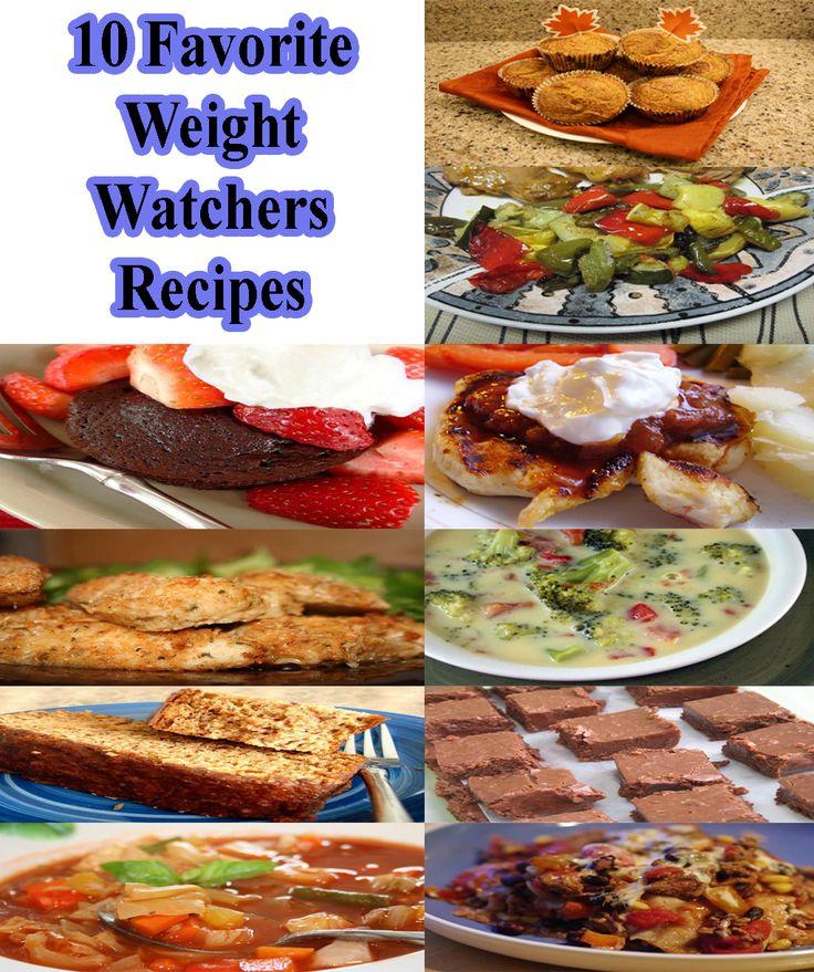 10 Favorite Weight Watchers Recipes