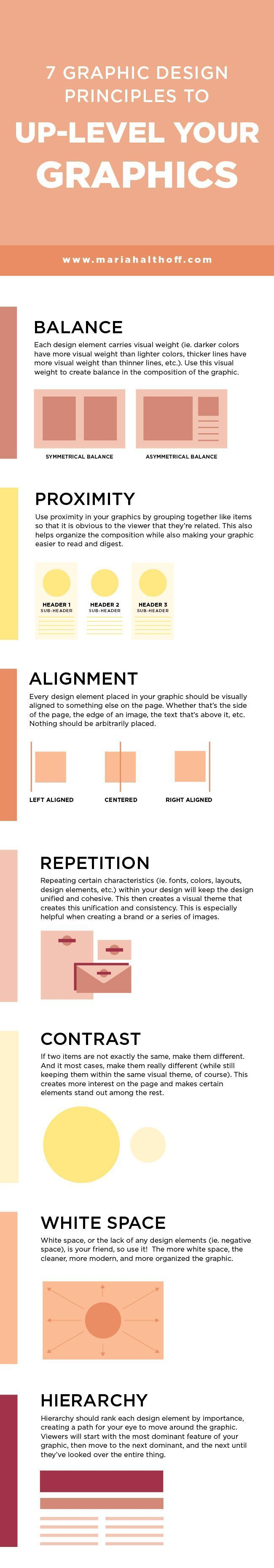 7 Graphic Design Principles to Up-Level your Graphics