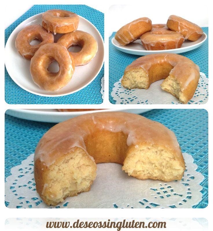 Deseos Sin Gluten: DONUTS SIN HUEVO Y SIN GLUTEN