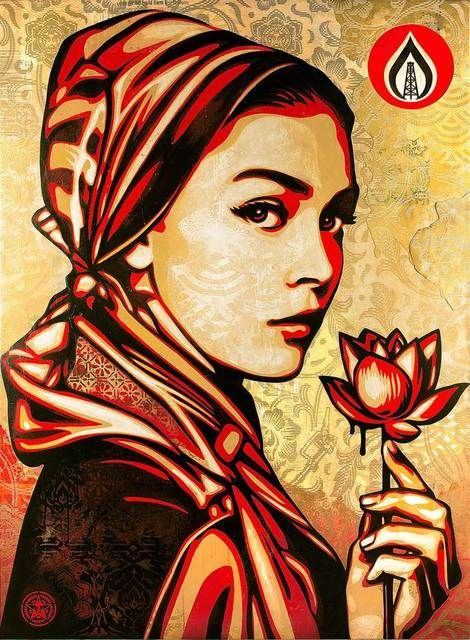 Shepard Fairey Natural Springs, 2015 Artsy - Discover Fine Art