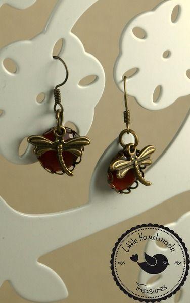 Ohrringe ❃ Libelle  ❃ von Little Handmade Treasures auf DaWanda.com