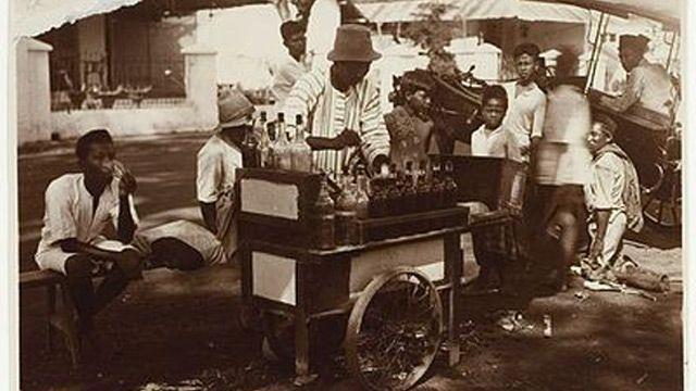 penjual limun - makassar 1915