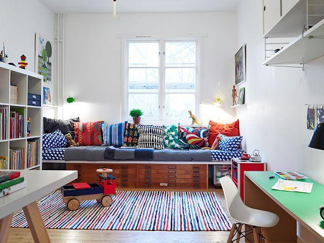 La maison d'Anna G.: Lundi coloré pour semaine chargée