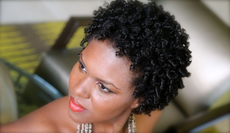 Short and Newly Natural Hair Curly Coily Perm Rod Set Tutorial More