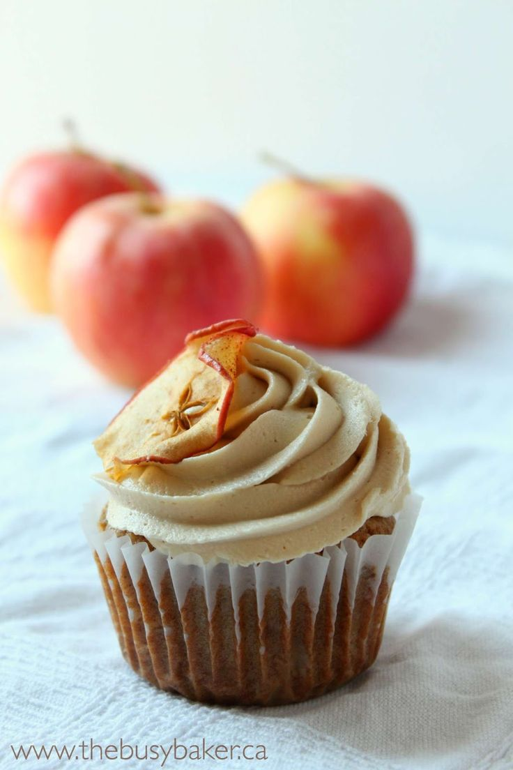 These Apple Caramel Cupcakes are absolutely delicious with creamy caramel frosting and a hint of spice!