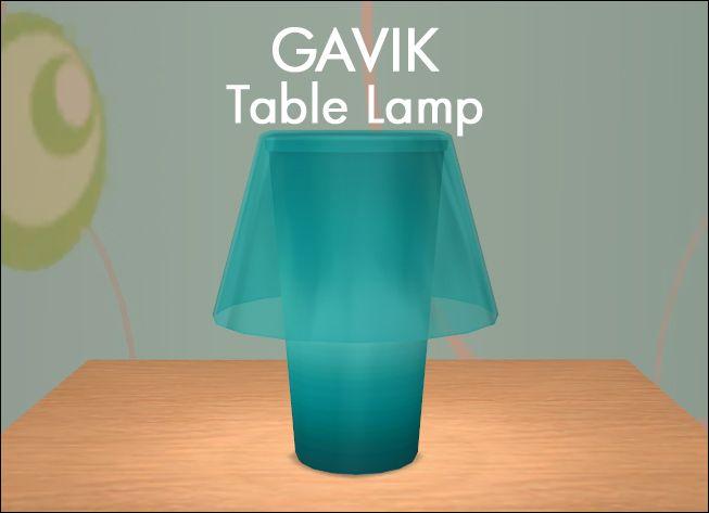 IKEA GAVIK Table Lamp | Table lamp, Ikea, Table