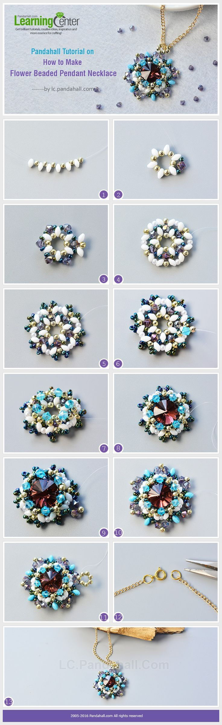 Poppy of beads: weaving schemes and step-by-step master class 78