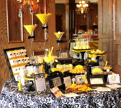 yellow and black candy bar