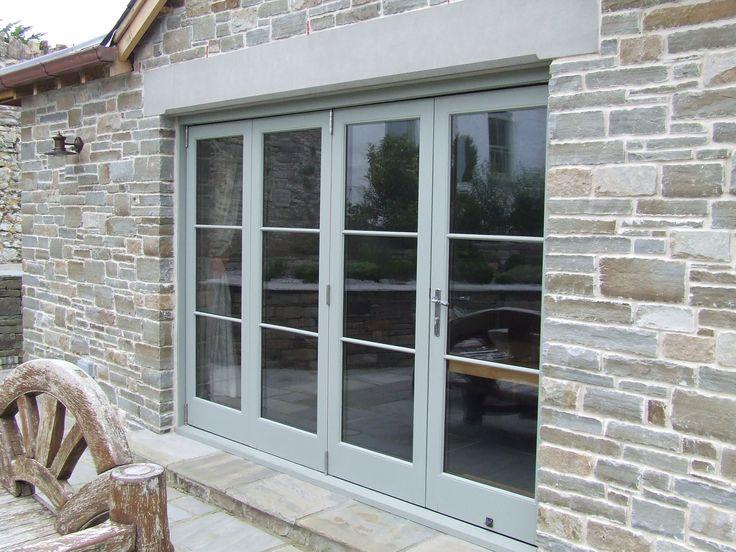 Oak Bi folding doors