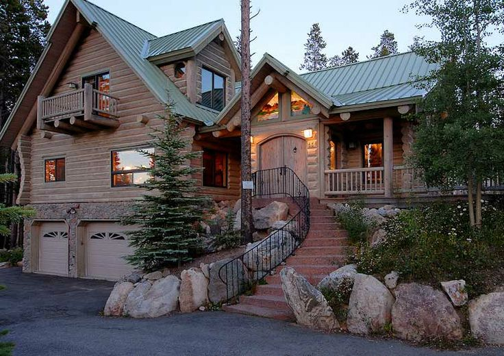 Lodge style homes photos rental homes colorado rough for Colorado style house plans