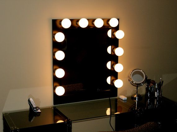 Hollywood Makeup Vanity Lights : Hollywood Lights Makeup Mirror by HollywoodLights4You Glam Pinterest Makeup, Lights and ...