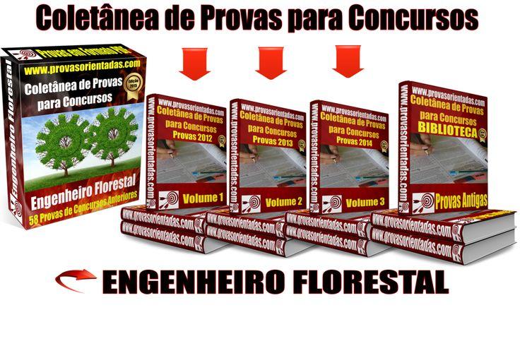 Coletânea Provas para Concursos - Engenheiro Florestal