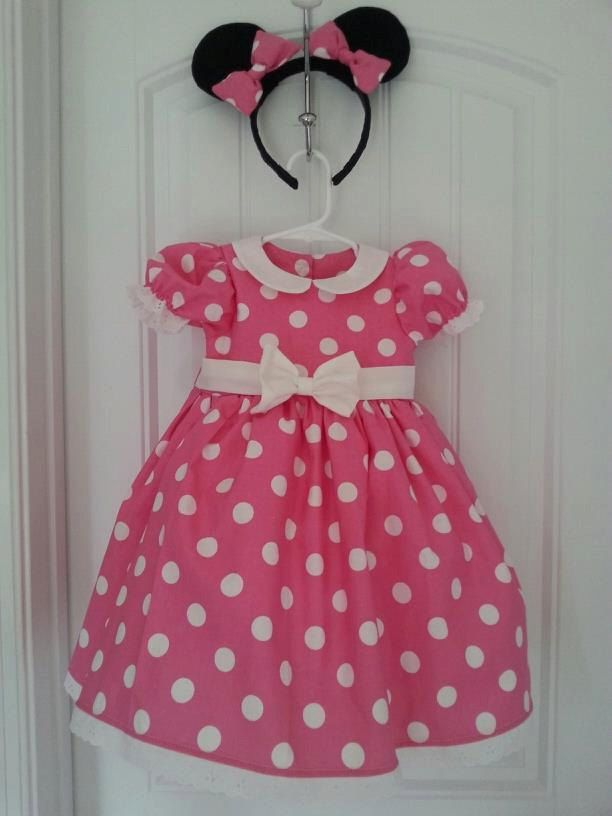Minnie Mouse dress by Dixie1andDe1ights on Etsy, $70.00