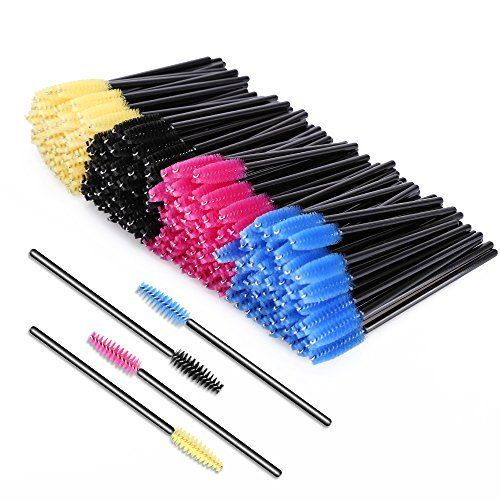 KEDSUM 200 Pieces Multicolor Disposable Mascara Wands Eyelash Brushes Eye Lash Applicators  List Price: $0.00  Deal Price: $7.99  You Save: $7.01 (47%)  KEDSUM 200 Pieces Multicolor Disposable Mascara Wands Eyelash Brushes Eye Lash Applicators  Expires Sep 2 2017