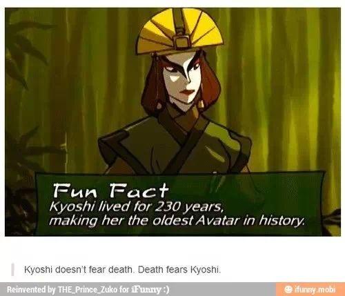 The Last Airbender Avatar Kyoshi: Avatar