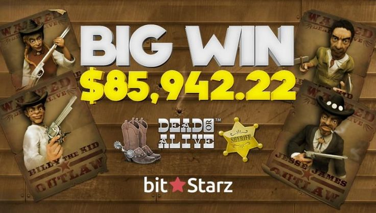 PR: $85942 won on Dead or Alive at BitStarz Casino