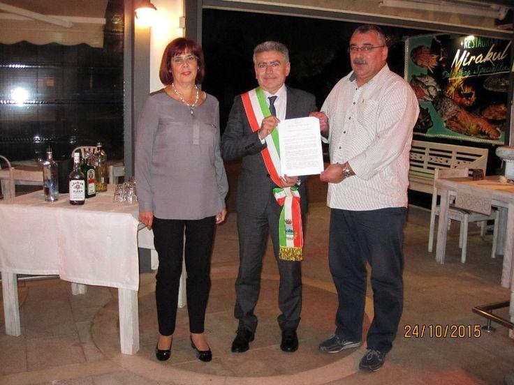 """Roseto. Progetto """"Elih-Med"""": firmato il protocollo con la città di Makarska"""