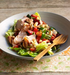 Gwyneth Paltrow's Ivy Chopped Salad  Recipe courtesy of My Father's Daughter: Delicious, Easy Recipes Celebrating Family & Togetherness by Gwyneth Paltrow    This salad is inspired by the famous grilled vegetable salad at The Ivy restaurant in Los Angeles.