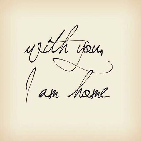 You are my home ❤ { S&S }
