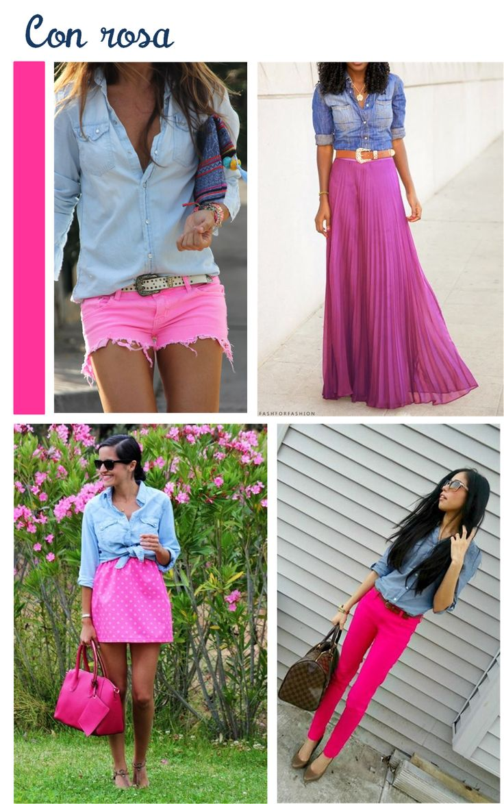 Perly Judith: Outfits con blusa de mezclilla