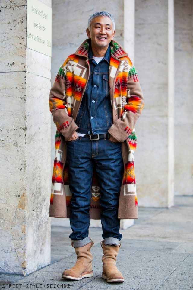RG Chief Joseph Pendleton Coat and Denim -