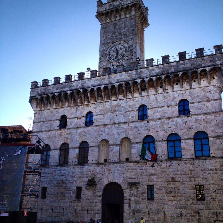 Montepulciano:twilight set